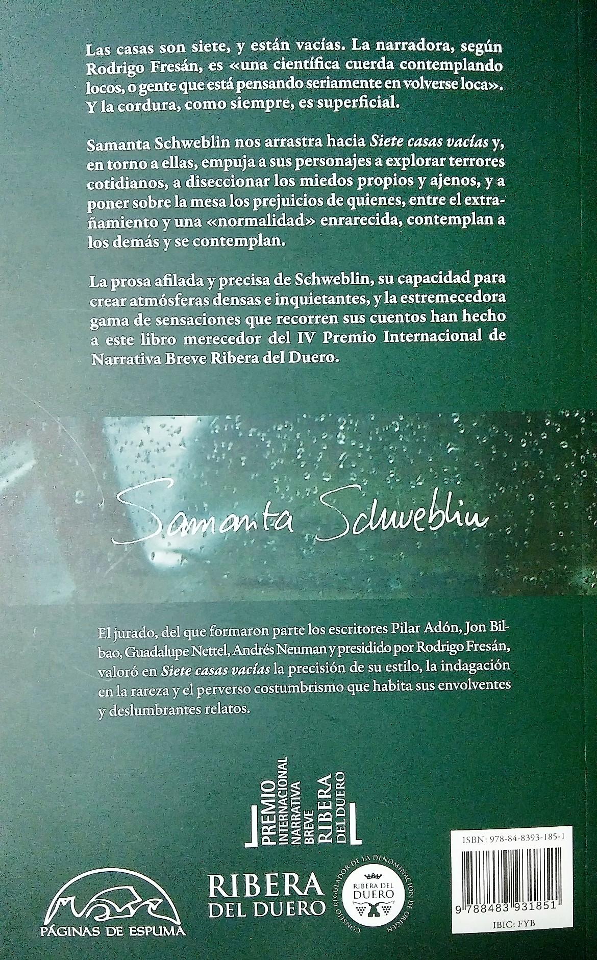 SCHWEBLIN RESEÑA CONTRAPORTADA